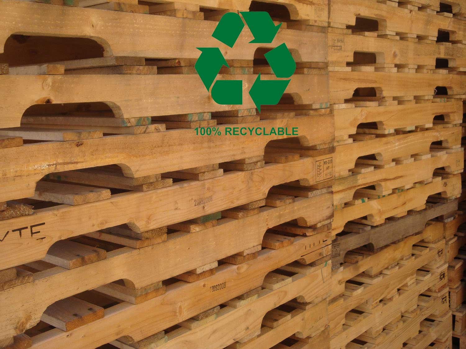 We recycle all wood waste